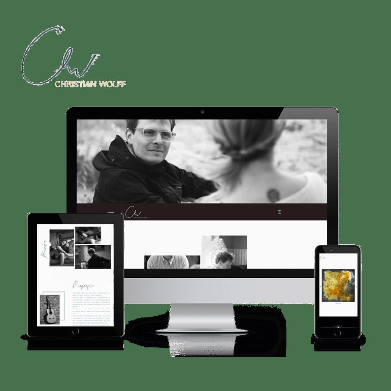 Referenzen Website Christian Wolff