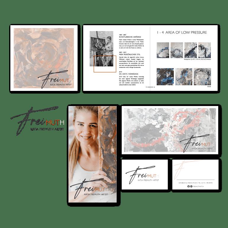 Referenzen Corporate Design Katja Freimuth