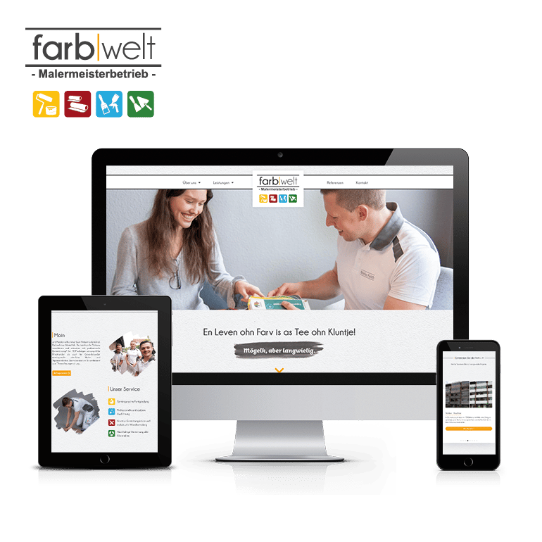 Referenzen Website Farbwelt Feith