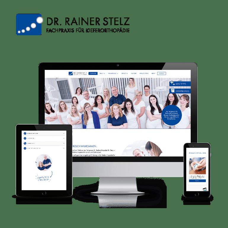Referenzen Website Praxis Dr. Stelz