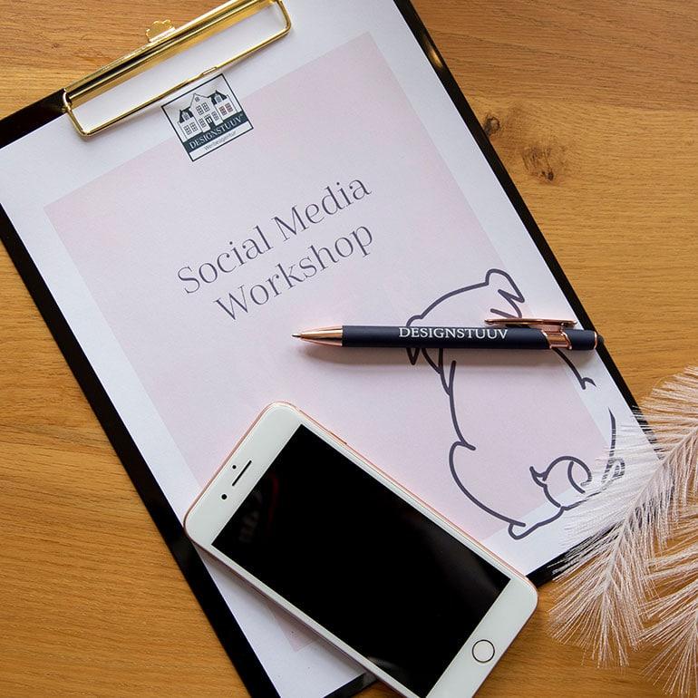 Social Media Online-Workshop Planung