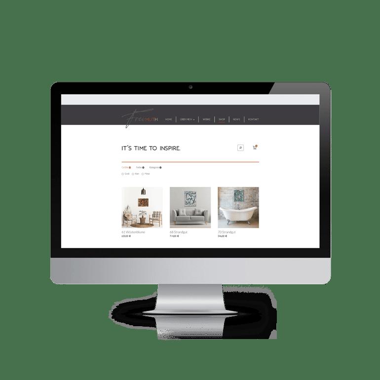 Referenzen Online-Shop Katja Freimuth