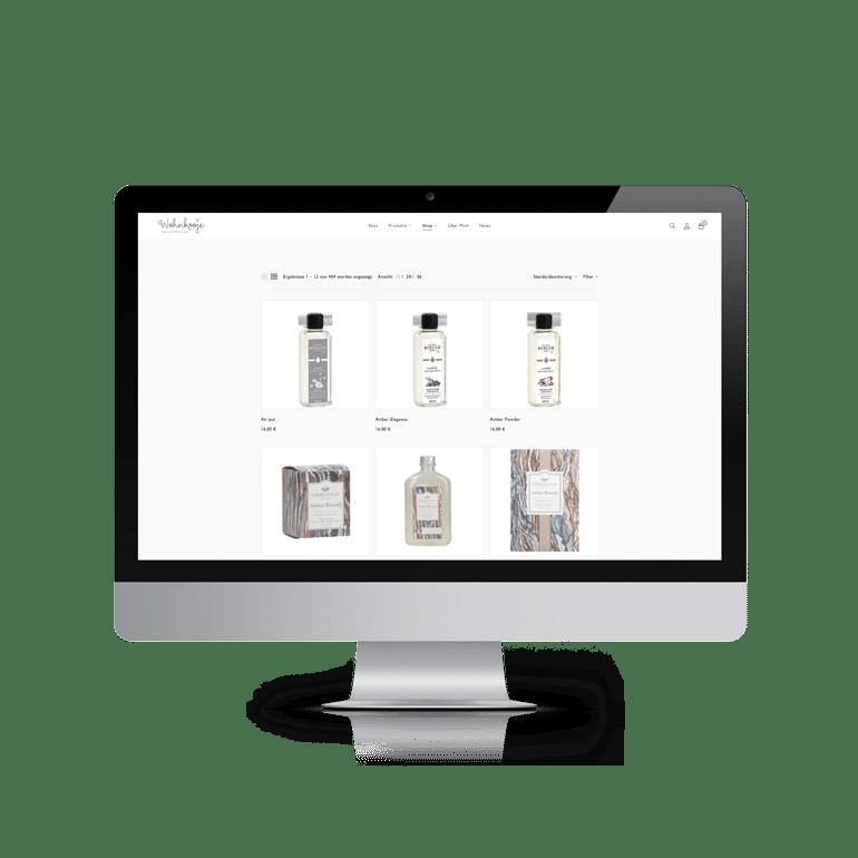 Referenzen Online-Shop Wohnkooje