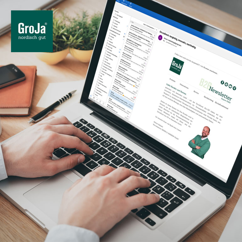 Referenz Newsletter GroJa